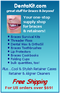 DentaKit.com has the supplies you need to keep your braces and aligner trays clean and comfortable.